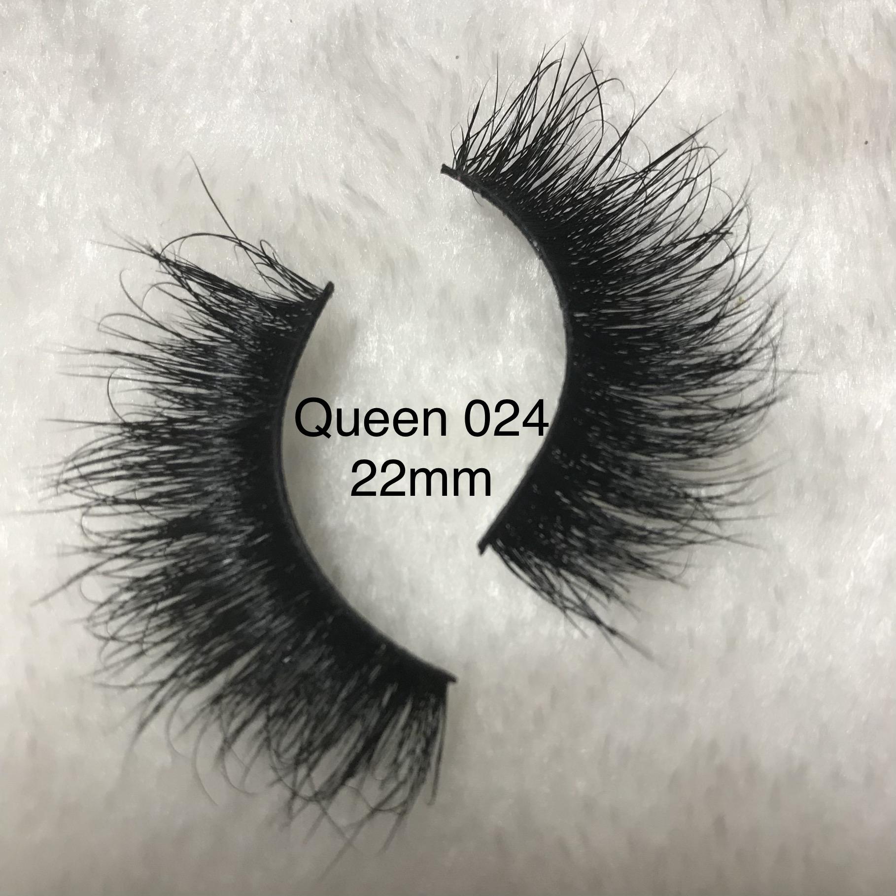 Retail 25MM queen 3d mink lashes sale