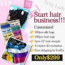 11a Special deal for starting hair business
