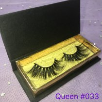 Black rectangle case lashes (1-1000pairs) deal