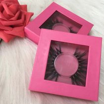Pink Square case lashes (1-1000pairs) deal