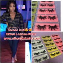 25mm and 27mm lashes special (ship by fedex,2-4days shipping)