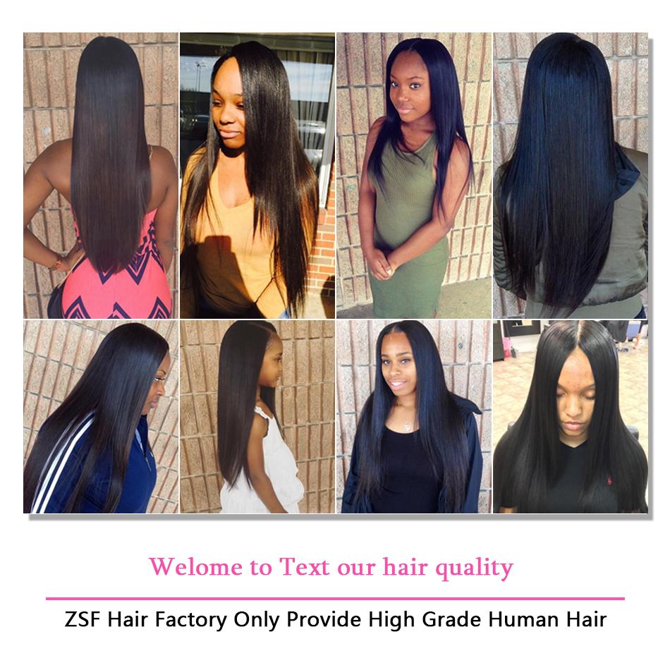 Zsf Hair Straight Virgin Hair Lace Frontal Wig 150 Unprocessed Human Hair 1piece Natural Black