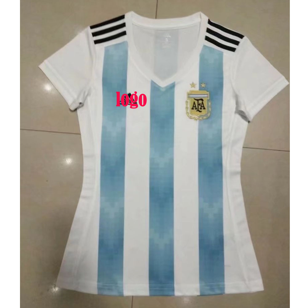 6a6cc2e18 2018 Woman World Cup Argentina Soccer Jersey Uniform National Team Football Jersey  Women Kits
