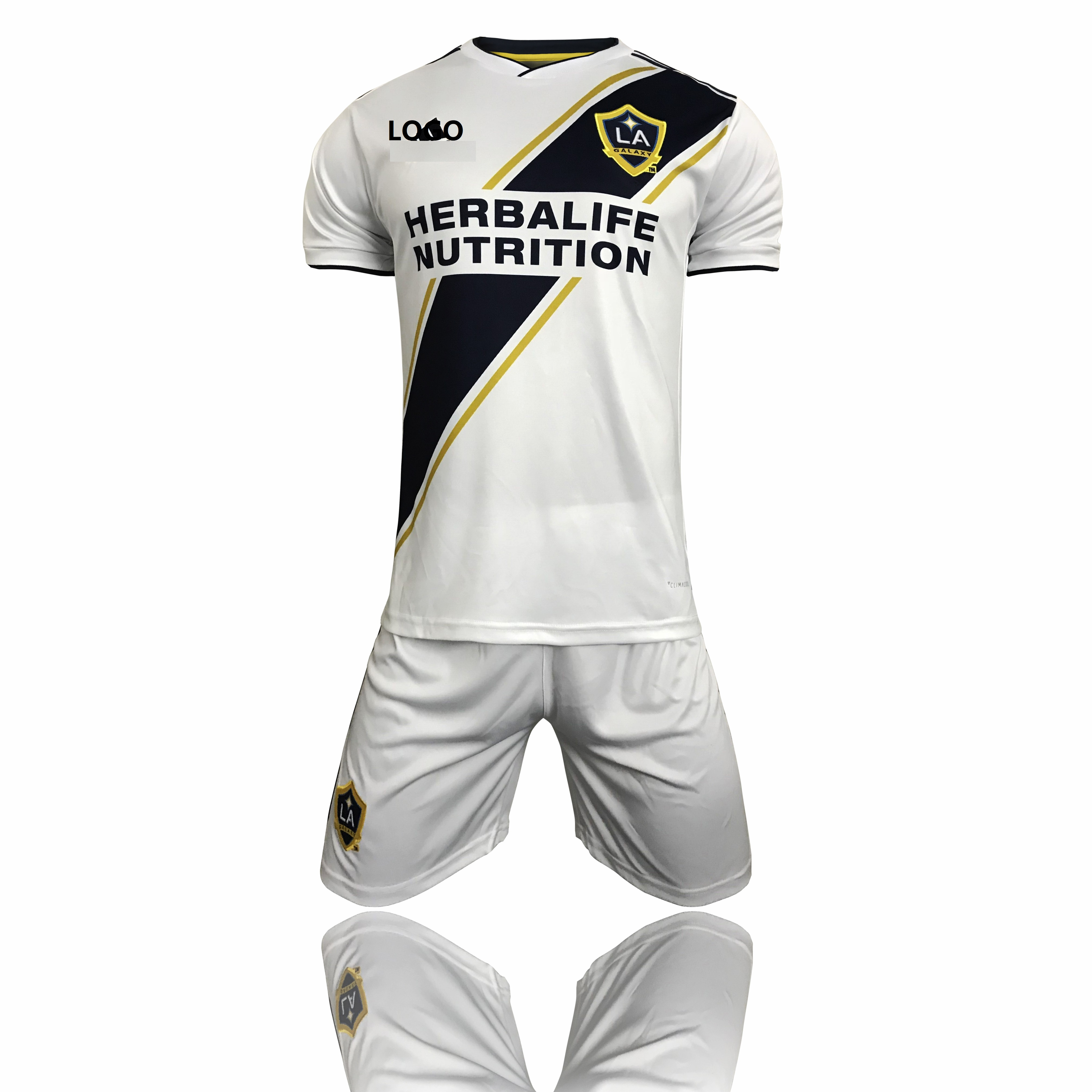 info for 1f64f 3f43f 2018 Adult men LA GALAXY Home Jersey Kits Cheap Soccer Uniform Online  Custom Name and Number