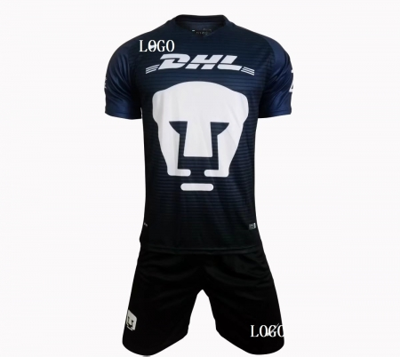 meet 1890b 826b1 2017 2018 Adult Cougar Jersey Uniform Third Away Mexico club UNAM Bulk  Cheap soccer jerseys kit set camisetas de futbol