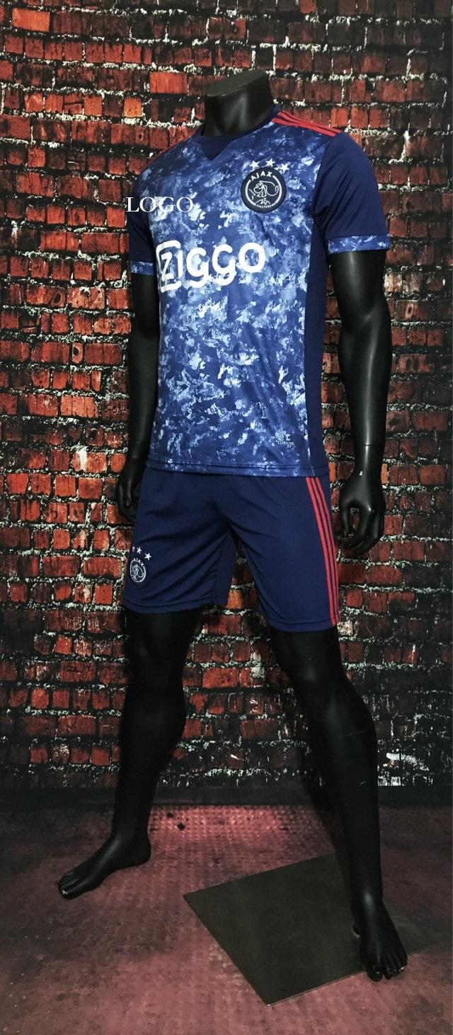 8bb8cc1fc42 17 18 Wholesale Men Ajax Away Soccer Jersey Kits Adult Football Uniform  Custom Soccer kits