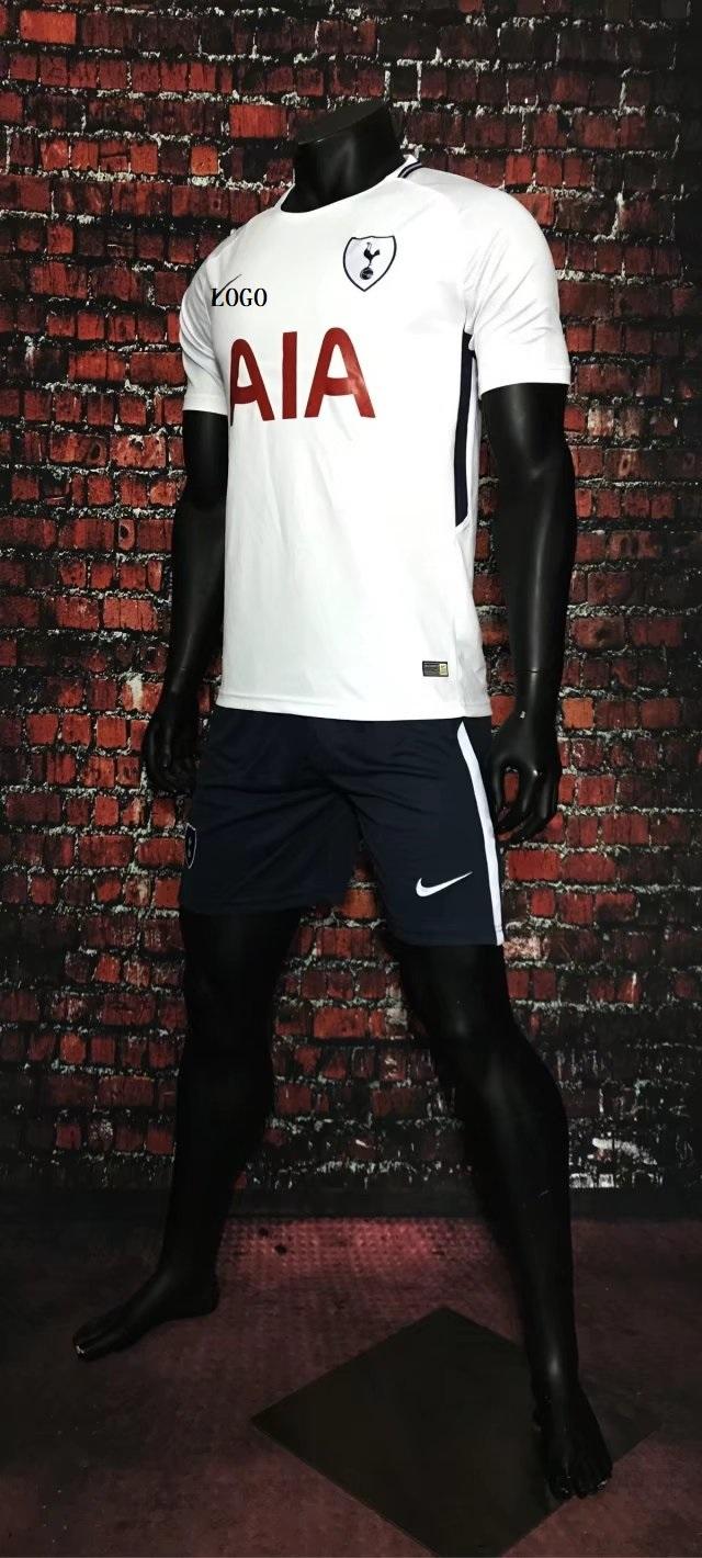1bc633e3a6b Adult Tottenham Hotspur HOME Soccer Jersey Uniforms Men Soccer Team  Uniforms Custom football jersey