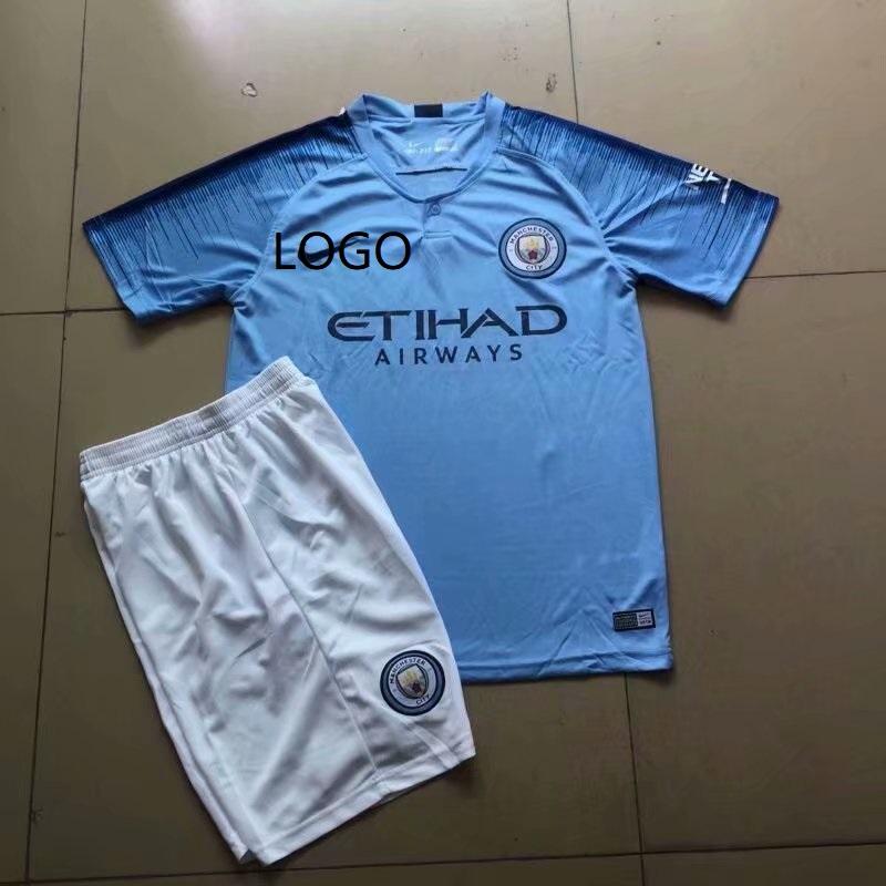 best service c703b b5f9f 2018/19 New York City FC Home Jersey Uniforms Blue Adult Football Kits  discount soccer jerseys