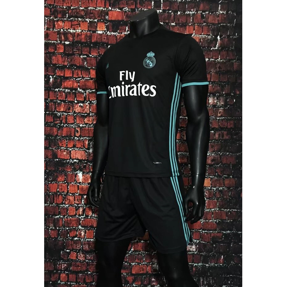 a33812c87 2017 2018 Adult Real Madrid Away Soccer Jersey Uniforms White Man Football  Kits Tracksuit Shirt+Short Home Away Item NO  860582