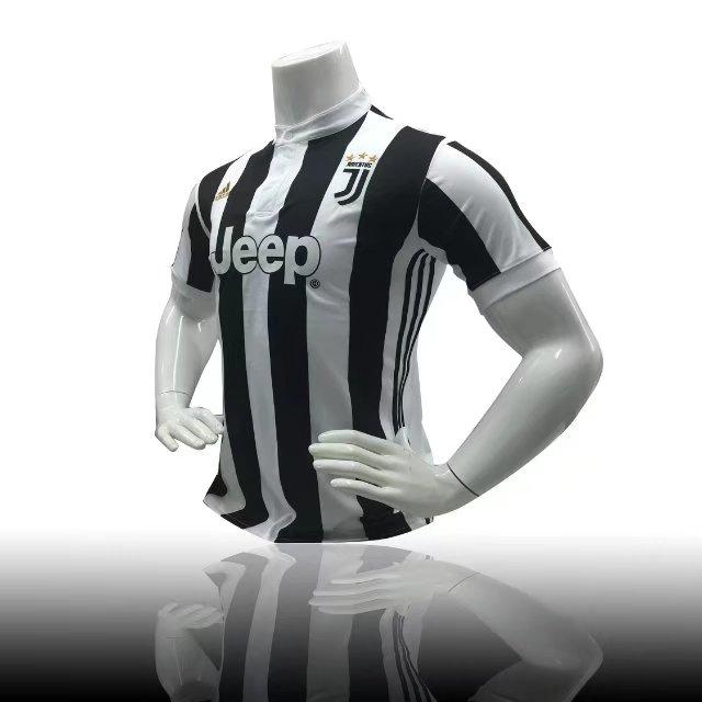 ab3560ae6f3 17/18 Adult Juventus Home Soccer Jersey Uniform Black Men Football Jersey  fan version Top Shirt