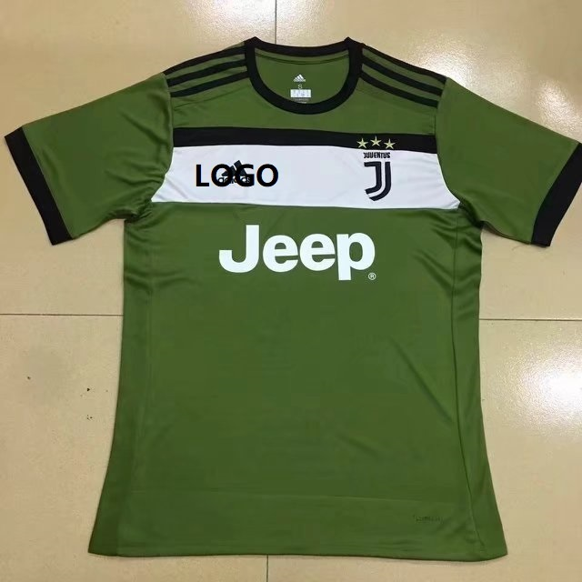 65fee212cb3 Wholesale Adult Juventus Third Away Green Replica Soccer Jersey Uniform  Custom Men Football Shirts