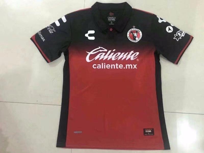 b47c61c29 Custom Cheap Adult Tijuana Home Red Replica Soccer Jersey Wholesale  football fan shirts