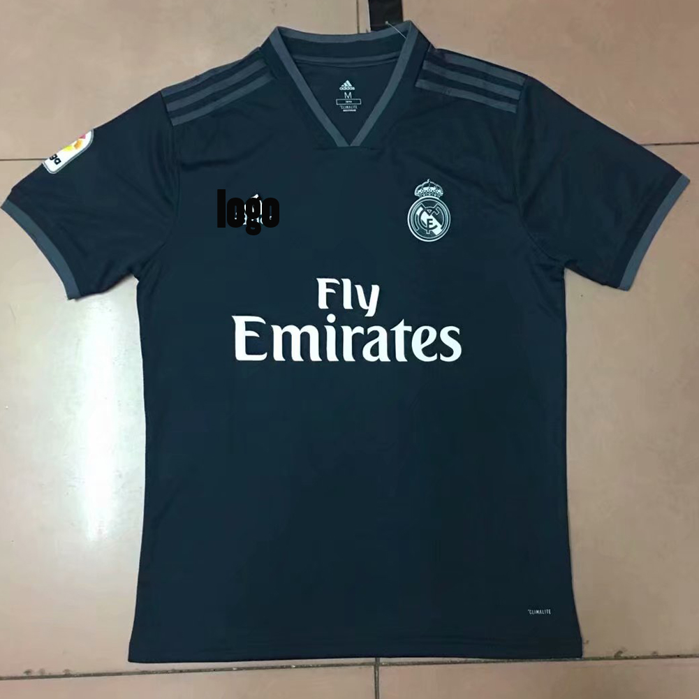 73403b70afe 2018 19 Cheap Replica A Quality Real Madrid Soccer Jersey For Fan Custom  football shirts