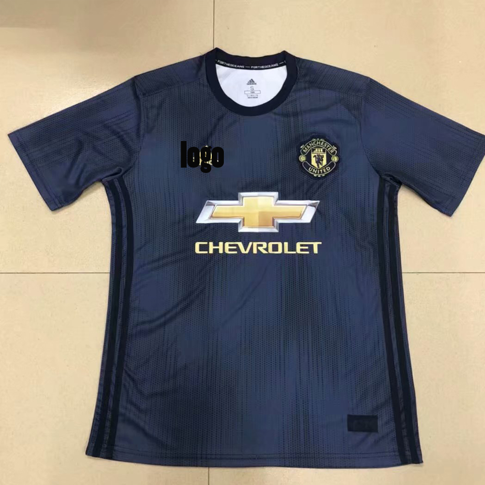 8c517a644 2018/19 Wholesale Adult Men Manchester United Replica Football Jersey  Custom Soccer Shirts
