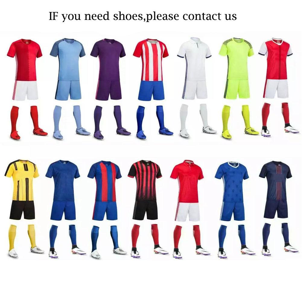 f9f27029d Adult Soccer Jersey Uniform Wholesale Man Football Kits Custom Soccer Team  Kit