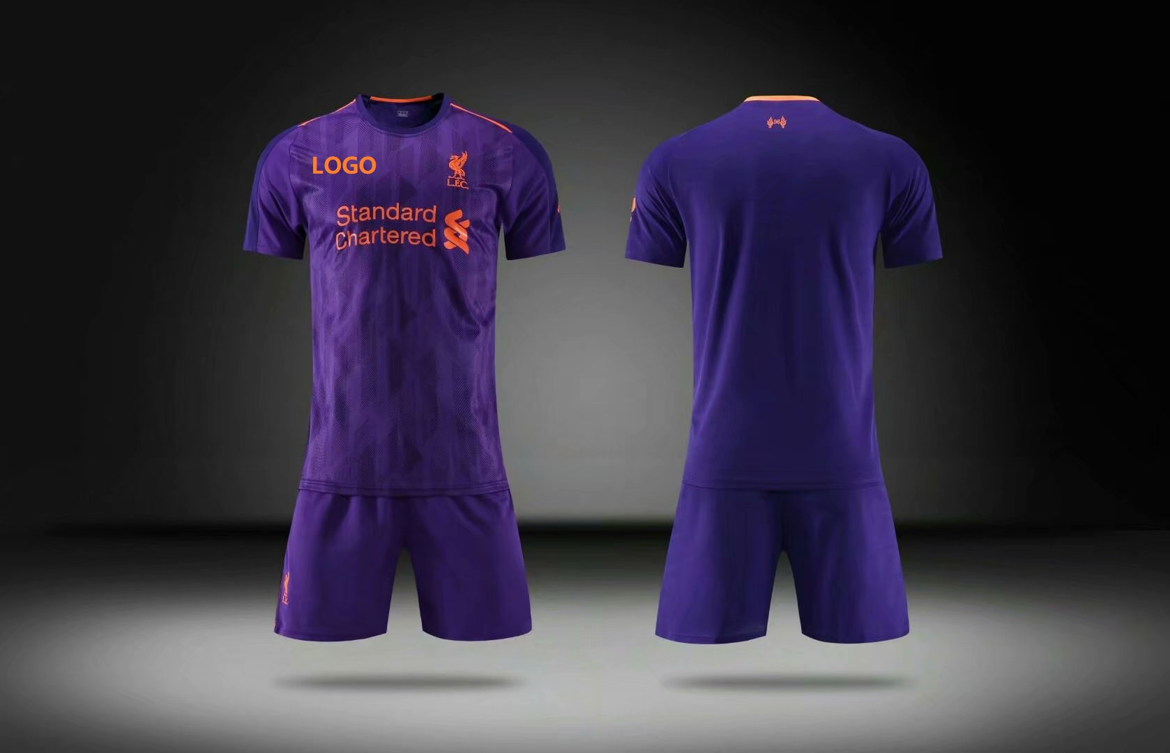 03eb4012 2018/19 AAA Men Liverpool Away Soccer Uniform Adult Football Kits Customize  Name Number