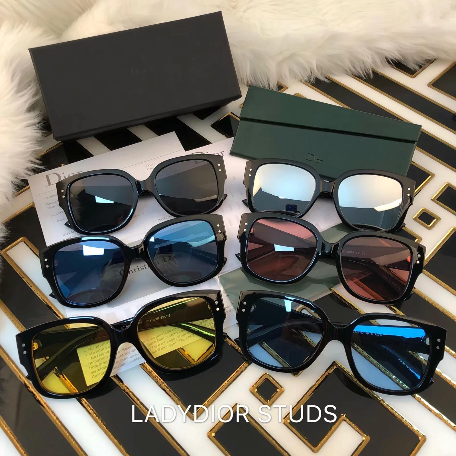 458f25adb640 Dior Sunglasses Women Brand Designer Small Square Sunglases Women Driving  Fishing EyeGlasses Fashion Optical