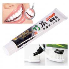 Hotsale 100g All-Purpose Bamboo Charcoal Teeth Whitening Clean Black Toothpaste