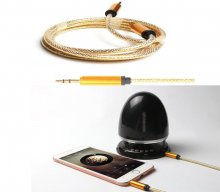 3.5mm Male to Male Car Aux Auxiliary Cord Stereo Audio Cable For Phone iPod Hot