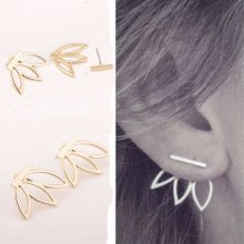 Women Lady 1Pair Fashion Rhinestone Crystal Earrings Ear Hook Stud Jewelry