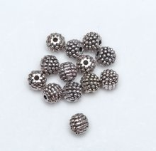 Wholesale Tibet Silver Beads Spacer For Jewelry Making European Bracelet beads