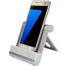 Foldable Aluminum Desktop Mini Bracket Stand Holder For iPhone iPad For Samsung