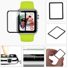 New For Apple Watch 9H Slim Tempered Glass Film Screen Protector 38mm 42mm