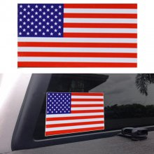 American Flag Sticker Vinyl Decal For Car, Truck, Boat, Patriotic 3 x5