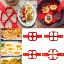 New Pancake Pan Flip Non Stick Breakfast Maker Egg Omelette Flipjack Tools 2017