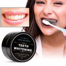 30g Activated Charcoal Teeth Whitening Organic Coconut Shell Powder Oz Stock