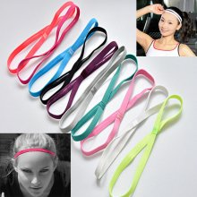 Sports Yoga Stretch Headband Women Man Elastic Band Hair Rope Hair Accessories