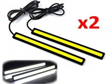 2x Waterproof 12V LED COB Car Auto DRL Driving Daytime Running Lamp Fog Light B
