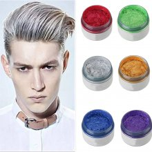 7 Colors Unisex DIY Hair Color Wax Mud Dye Cream Temporary Modeling New