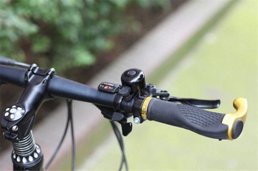 Black Metal & Plastic Ring Handlebar Bell Sound for Bicycle Bike Cycling Alarm