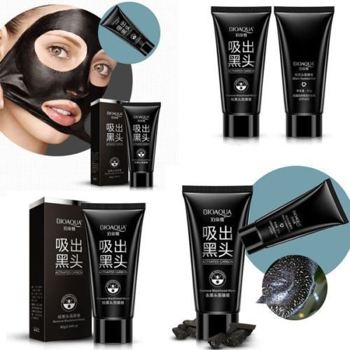 PILATEN blackhead remover, Deep Cleansing Black Mud Mask, acne pore strip peel