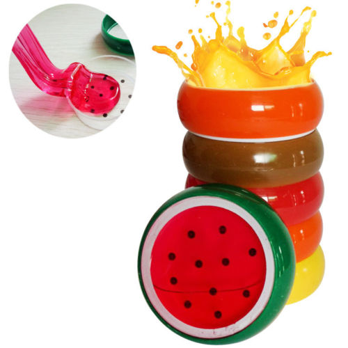 Creative Fruit Crystal Clay Jelly Slime Plasticine Mud Children Educational Toy