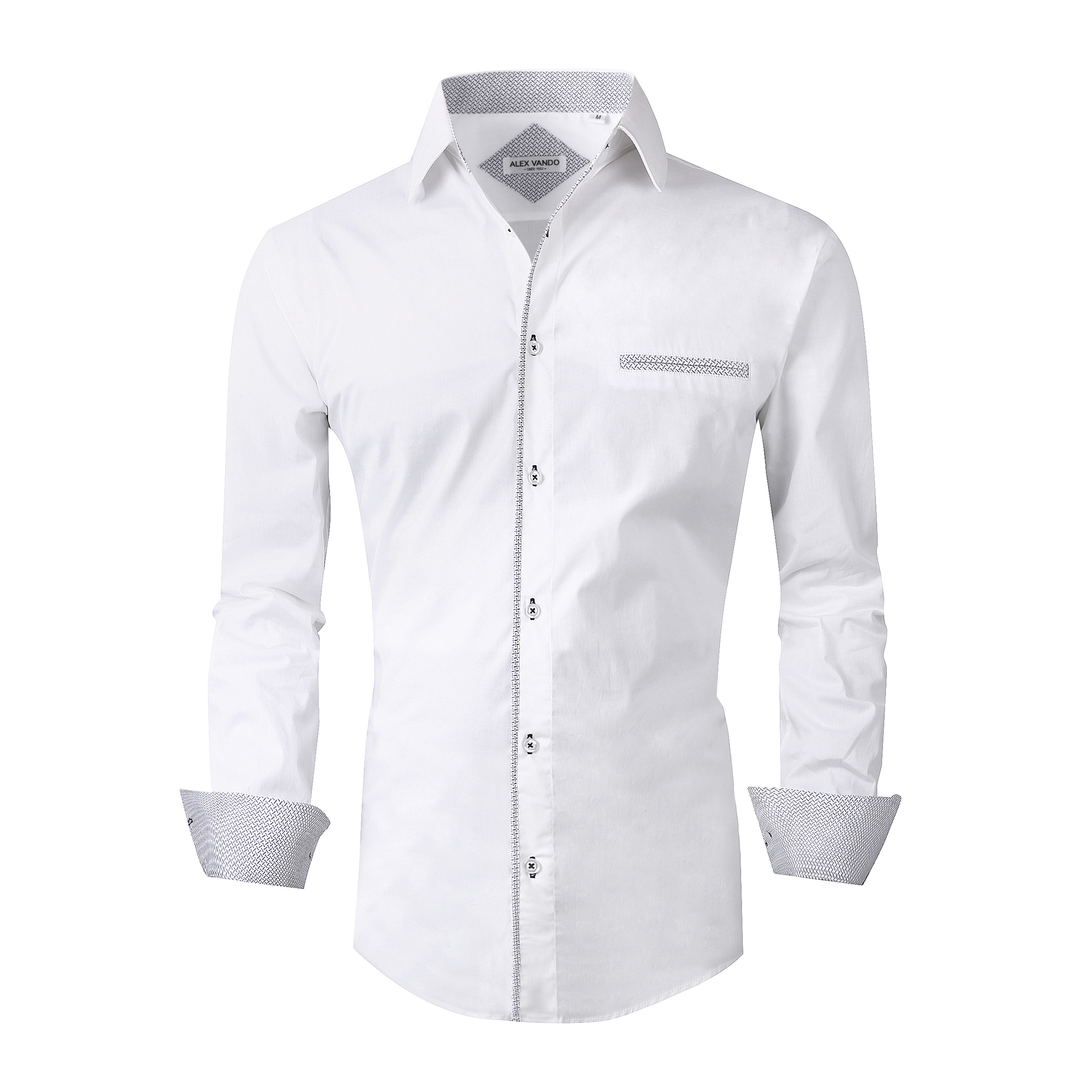 e405ca67c170 White Long Sleeve Shirt Mens Outfit