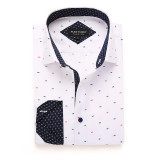Mens Printed Casual Long Sleeve Dress Shirt print-01-19-340