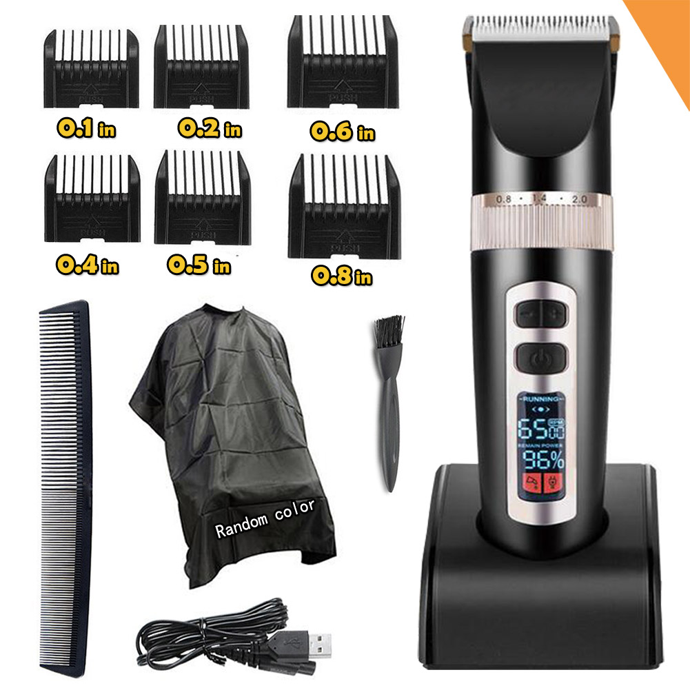 Paladou Professional Electric Hair Clippers For Men Best Quiet