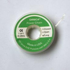 Dental orthodontic elastic chain power chain clear color 2.28m open type
