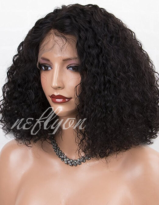 Us 123 2 180 Density Short Bob Lace Front Wigs Human Hair For