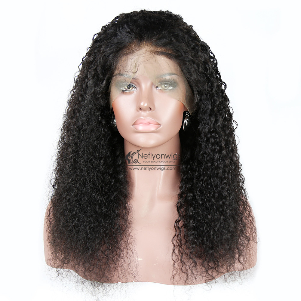 360 Lace Frontal Wig Deep Water Wave Human Hair Wigs for Women with Baby  Hair Pre Plucked 3a2a438954