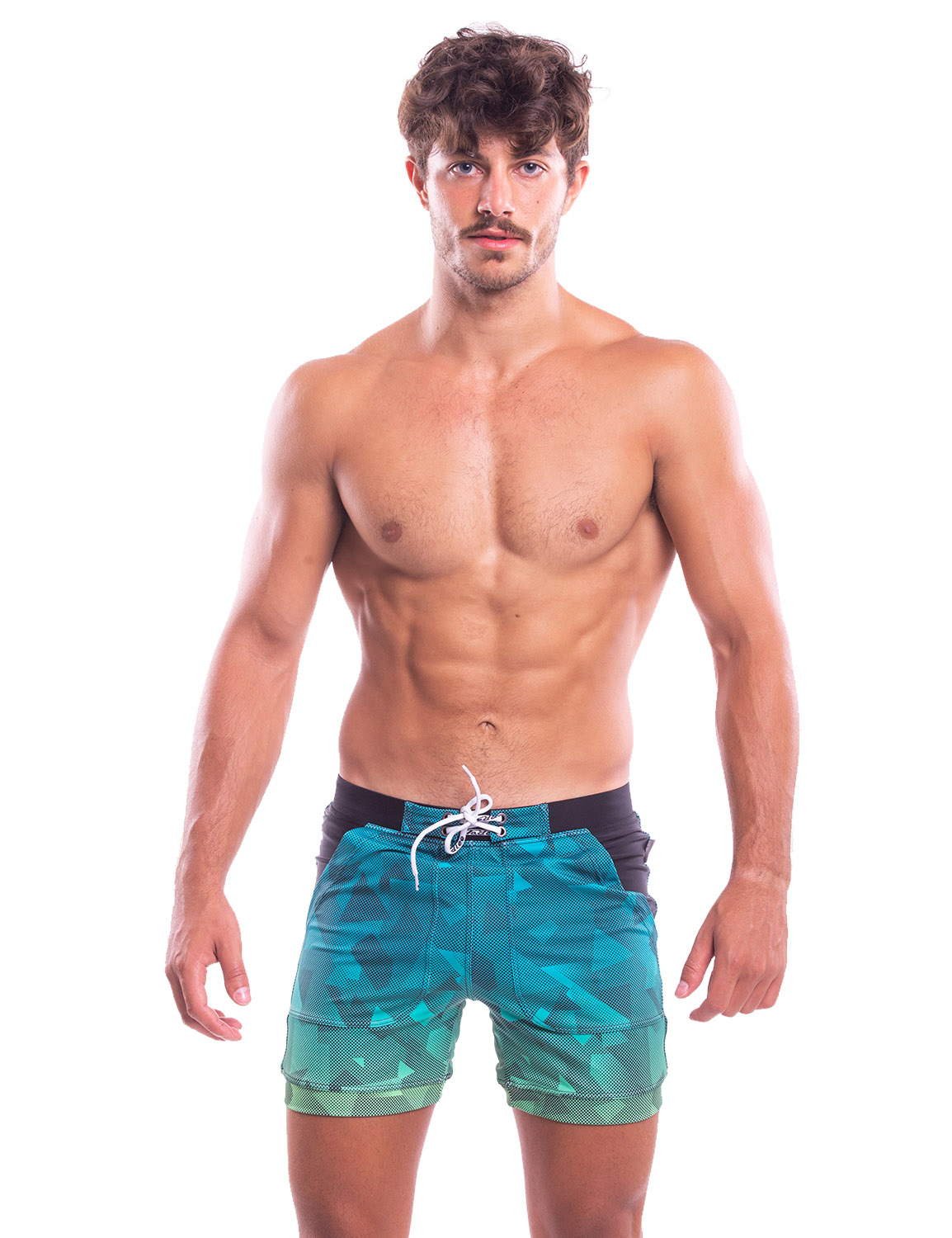 501752bcd4 Taddlee Mens Swimwear Long Swimsuits Swim Briefs Boxer Cut Pockets Bathing  Suits Item NO: TAD-YK55-XF192