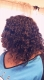 Natural Color Deep Curl Brazilian Hair High Quality Lace Wigs
