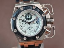 オーデマ・ピゲ Audemars Piguet Royal Oak Survivor RG/RU White A-7750 腕時計