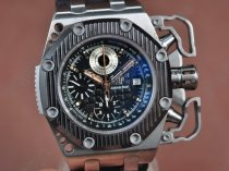 オーデマ・ピゲ Audemars Piguet Royal Oak Survivor TI/RU Black A-7750 腕時計