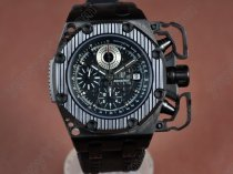 オーデマ・ピゲAudemars Piguet Royal Oak Survivor PVD/RU Black A-7750自動巻き