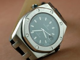 オーデマピゲAudemars Piguet Wempe Limited Ed Royal Oak SS Black Swiss Eta 2836-2自動巻