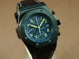 オーデマ・ピゲAudemars Piguet End Of Days Limited ED PVD/LE Black A-7750 Chrono自動巻き