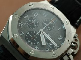 オーデマ・ピゲAudemars Piguet T3 Royal Oak Chrono SS/LE Dark Grey Asia 7750自動巻き